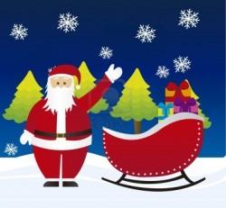 santa-claus-on-sleigh