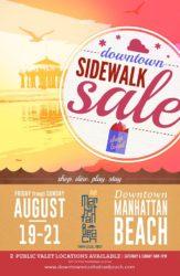 Downtown Manhattan Beach Sidewalk Sale