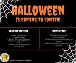 Lomita Halloween