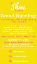 Shine Studio Grand Opening