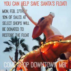 Save Santa's Float