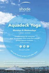 Aquadeck Yoga